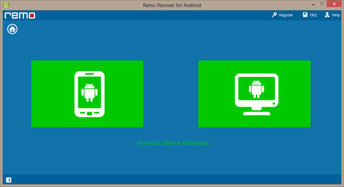 Remo Recover for Android Recovery Screenshot