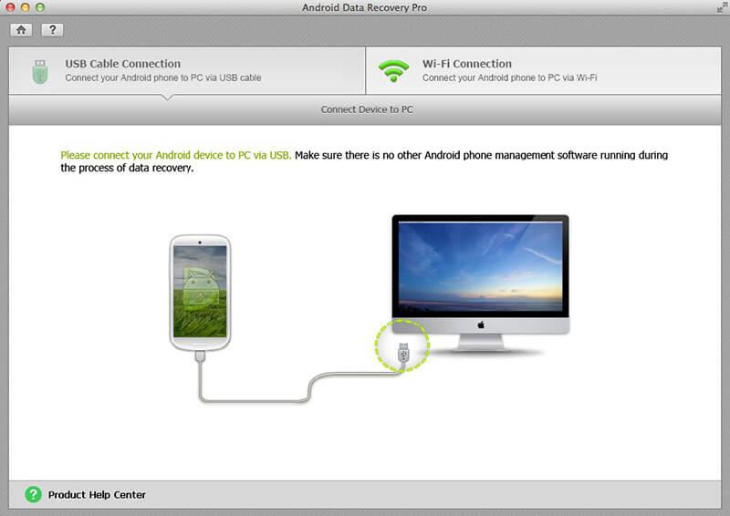 Tenorshare Android Data Recovery Screenshot